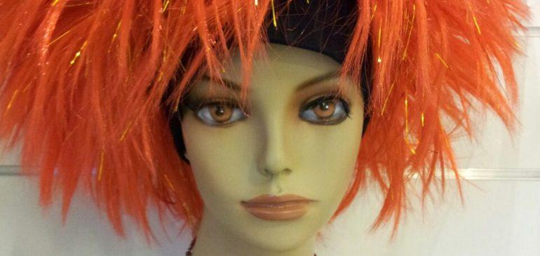 Fire Head Wig