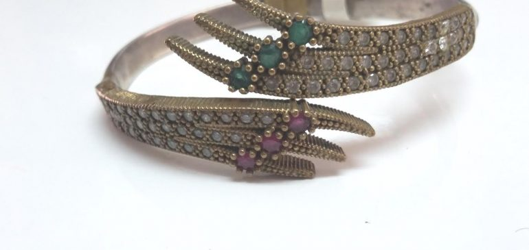 Silver Victorian Bracelet
