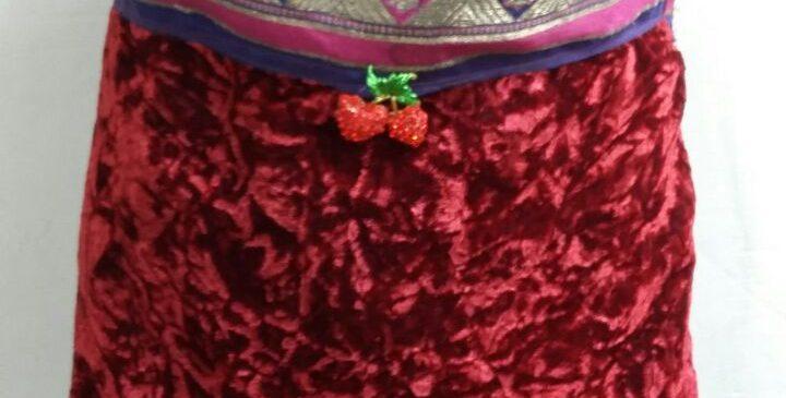 bархатная сумочка