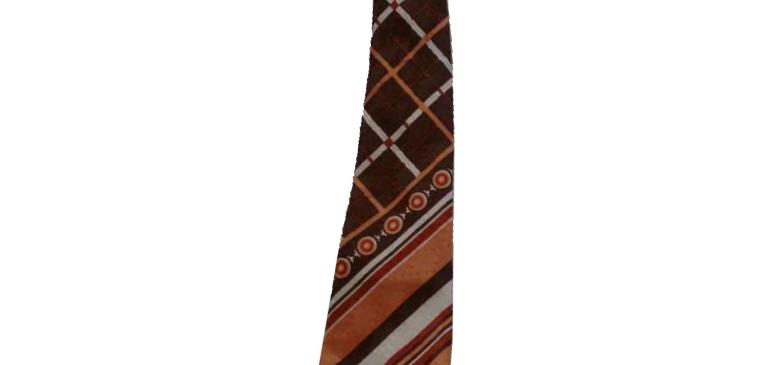 Шелковый галстук Урожай