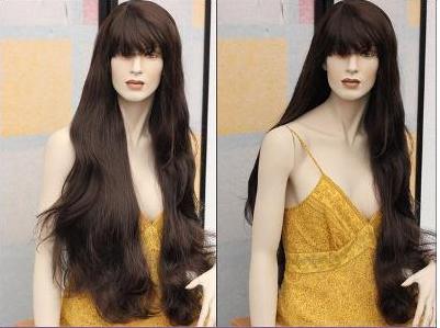 Прекрасный Темный, длинный парик