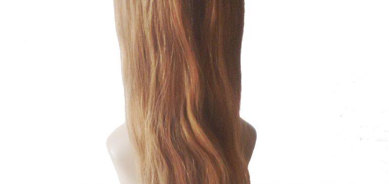 Естественное расширение светлые волосы