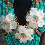 Amazing, turquoise beads, Necklace