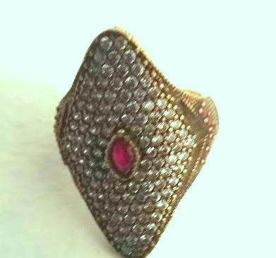 Rhombus Silver Ring