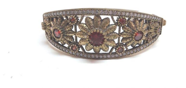 silver sterling plated bracelet
