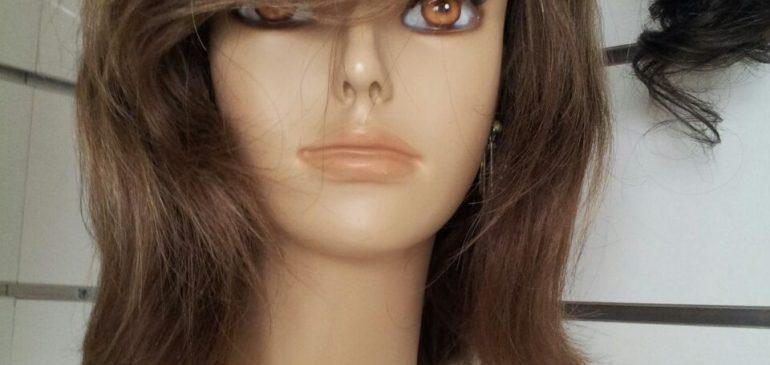 Shoulder length natural wig