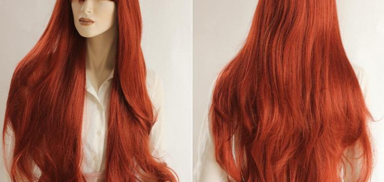 Long, Amazing, Red Wig