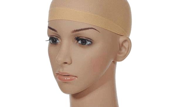 Wig cap in skin color