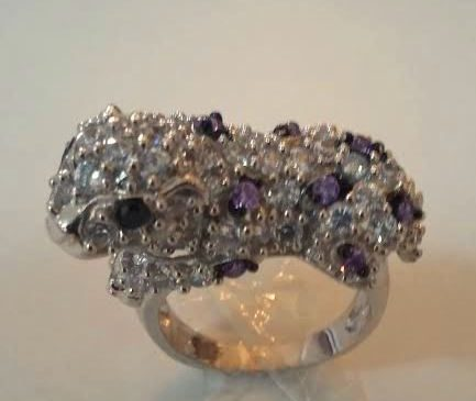Silver Ring, Tiger Shaped